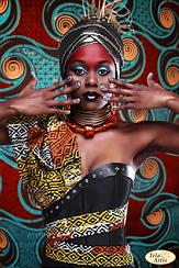 """Схема для вышивки бисером """"Африканка - 1"""""""
