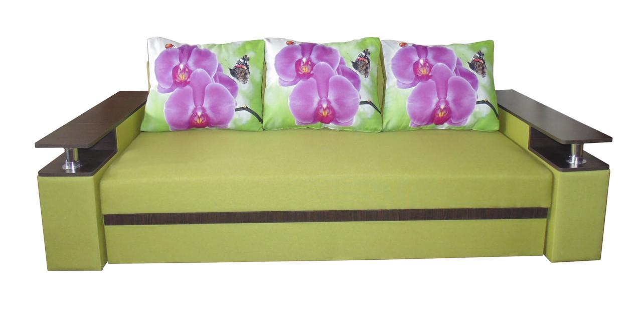 Раскладной диван-еврокнижка на пружинном блоке Марсель