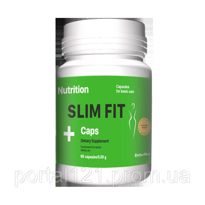 Капсули для схуднення жіросжігателя Slim Fit 60 капсул EntherMeal