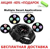 Смарт часы с Камера Bluetooth Smartwatch L9 смарт картон часы  трекер Умные часы фитнес часы Original size+Пб, фото 1