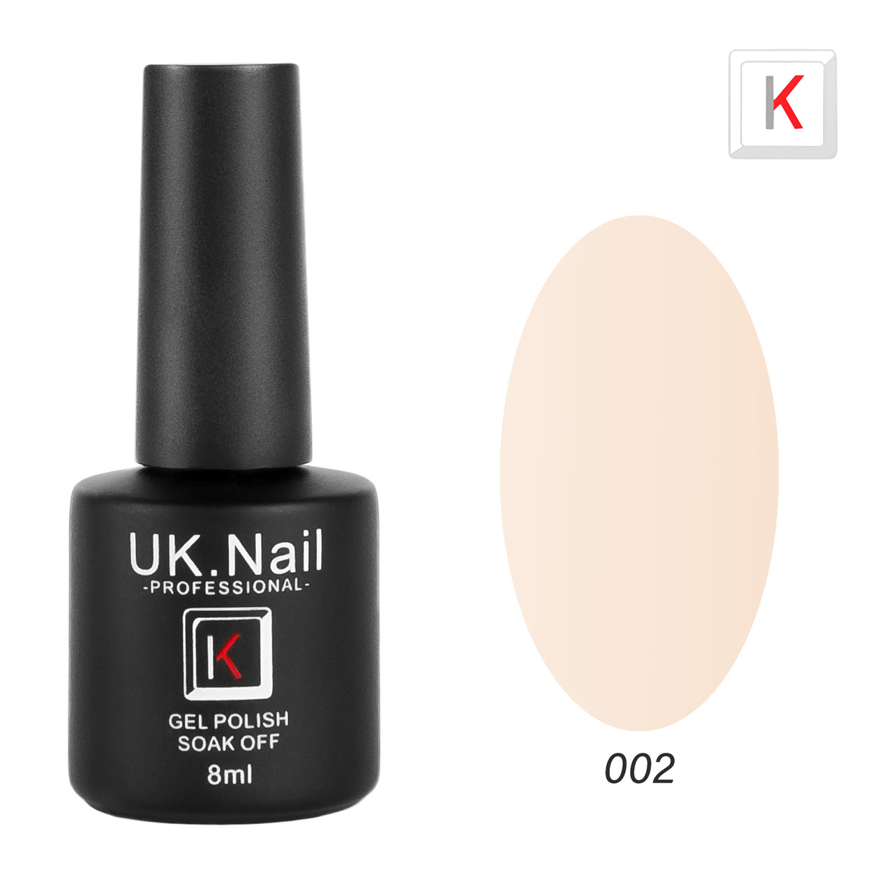 Гель-лаки UK.Nail 8мл №02