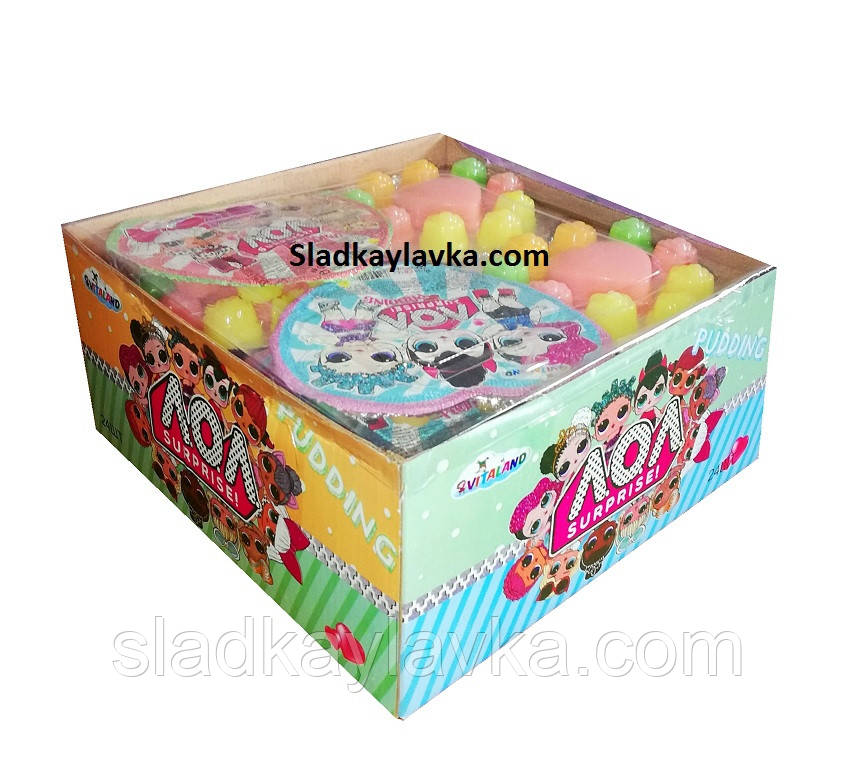 Желейная конфета LOL Сердце 24 шт (Vitaland)