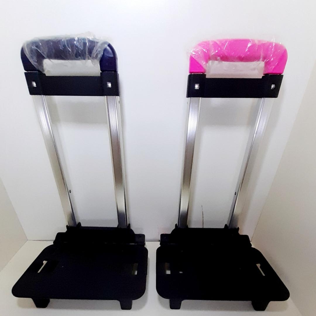 Троллей для рюкзака, светящиеся колеса, алюминиевая ручка  (складывающаяся)