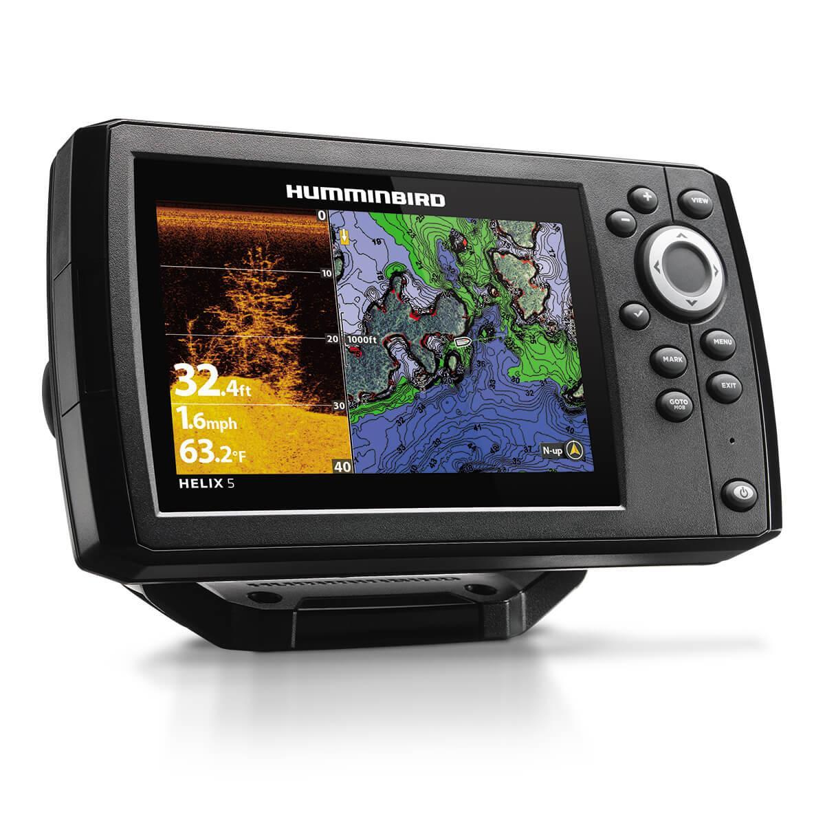 Ехолот Картплотер Humminbird HELIX 5 CHIRP SI GPS G2