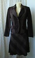 Костюм женский демисезонный коричневый бренд Uptown Woman р.44-46