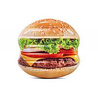 Матрац  INTEX Гамбургер 145х142 см