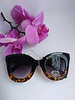 Женские солнцезащитные очки Бабочки комбинированные градиент (077)