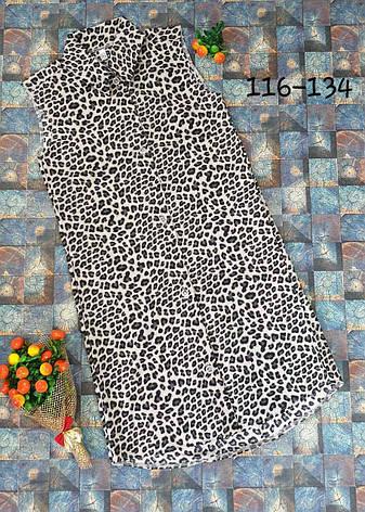 Летнее платье - рубашка для девочки р.116-134 опт, фото 2