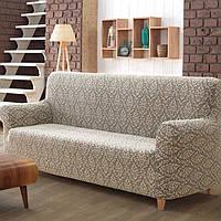 Как надевать чехол на трехместный диван