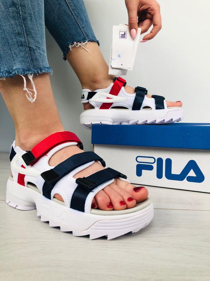 Сандали женские FILA Disruptor Platform (сандалі жіночі). ТОП КАЧЕСТВО !!! Реплика