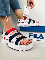 Сандали женские FILA Disruptor Platform (сандалі жіночі). ТОП КАЧЕСТВО !!! Реплика, фото 1