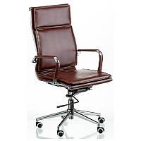 Кресло Special4You Solano 4 artleather brown арт. E5227
