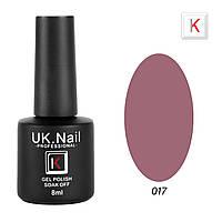 Гель-лаки UK.Nail 8мл №17