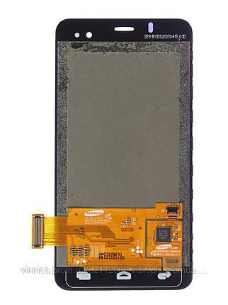 Дисплей (экран) Alcatel 6010 One Touch Star with touch screen (с тачскрином в сборе), black (черный), фото 2