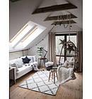 Ковер SKETCH 120x170 см - F343 серый белый Марокканский узор, фото 5