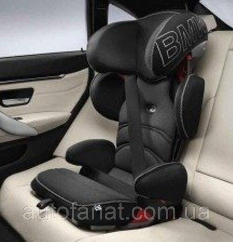 Оригинальное детское автокресло BMW Junior Seat 2-3, Black - Anthracite (82222448816)