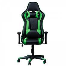 Геймерское (игровое) компьютерное кресло Zeus Drive green зелёное