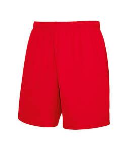 Мужские спортивные шорты L Красный