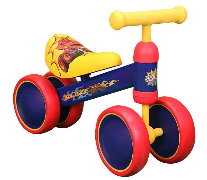 Велобег, стальная рама, пластмассовые колеса, EVA, P1273