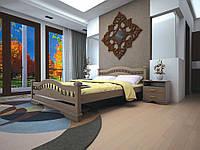 Ліжко з натурального дерева АТЛАНТ 8