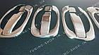 Накладки на ручки+ накладки под ручки (мыльницы) Renault Trafic 2001-2015, фото 4