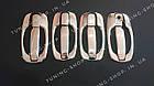 Накладки на ручки+ накладки под ручки (мыльницы) Renault Trafic 2001-2015, фото 5