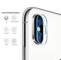 Защитное стекло на камеру для Apple iPhone X