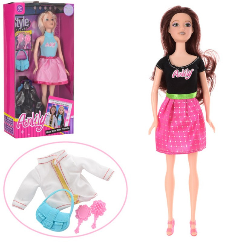 Кукла с нарядом и аксессуарами, 2 вида, , 99036