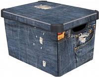 Коробка для хранения Curver 213241 Deco'S Stockholm L Джинс