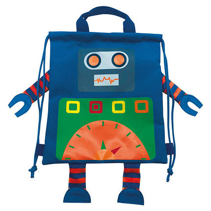 """Сумка-мешок детский SB-13 """"Robot"""", 556787, фото 2"""