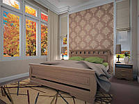 Ліжко з натурального дерева АТЛАНТ 14