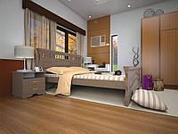 Ліжко з натурального дерева АТЛАНТ 16