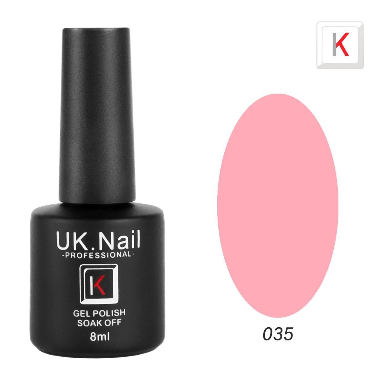 Гель-лаки UK.Nail 8мл №35