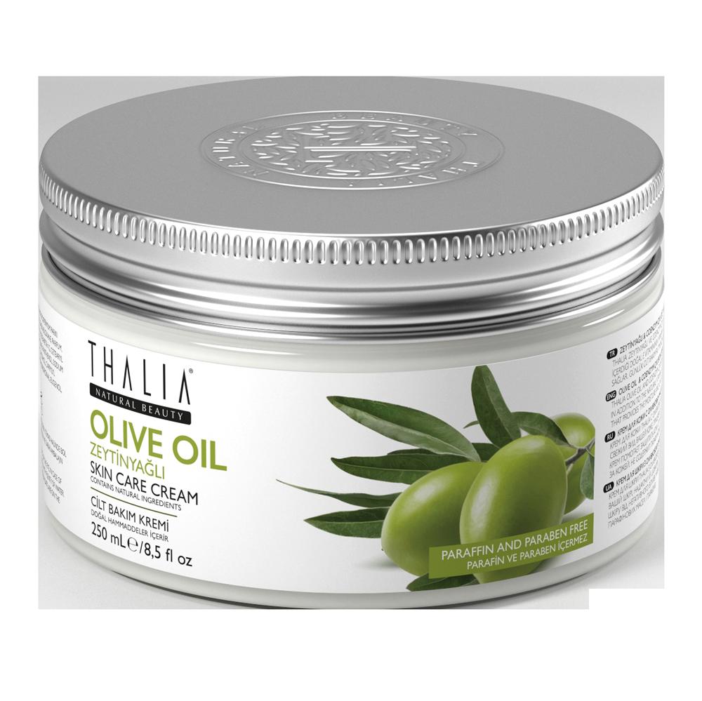 Крем для лица и тела регенерирующий с оливковым маслом THALIA, 250 мл
