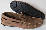 Levis мокасины! Натуральная кожа туфли удобнейшие туфли Levi Strauss Islands 90-01 левис черные, фото 2