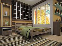 Ліжко з натурального дерева ГАРМОНІЯ140х200