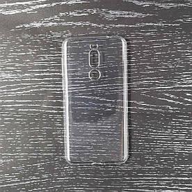 Чехол накладка для Meizu X8 силиконовый, прозрачный