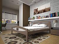 Ліжко з натурального дерева ЛОТОС