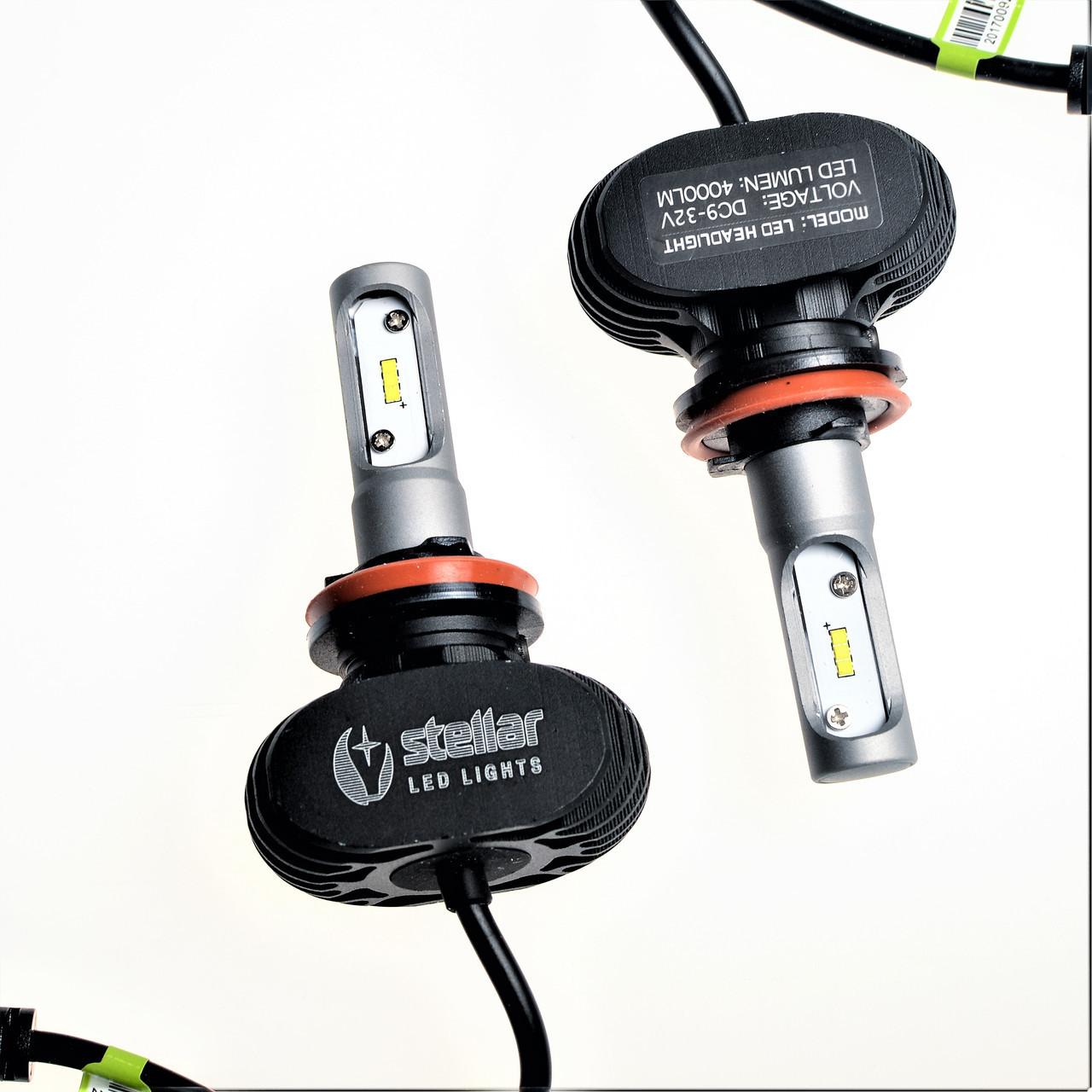 Светодиодные лампы LED Н11 STELLAR S2 серия (компл. 2шт)