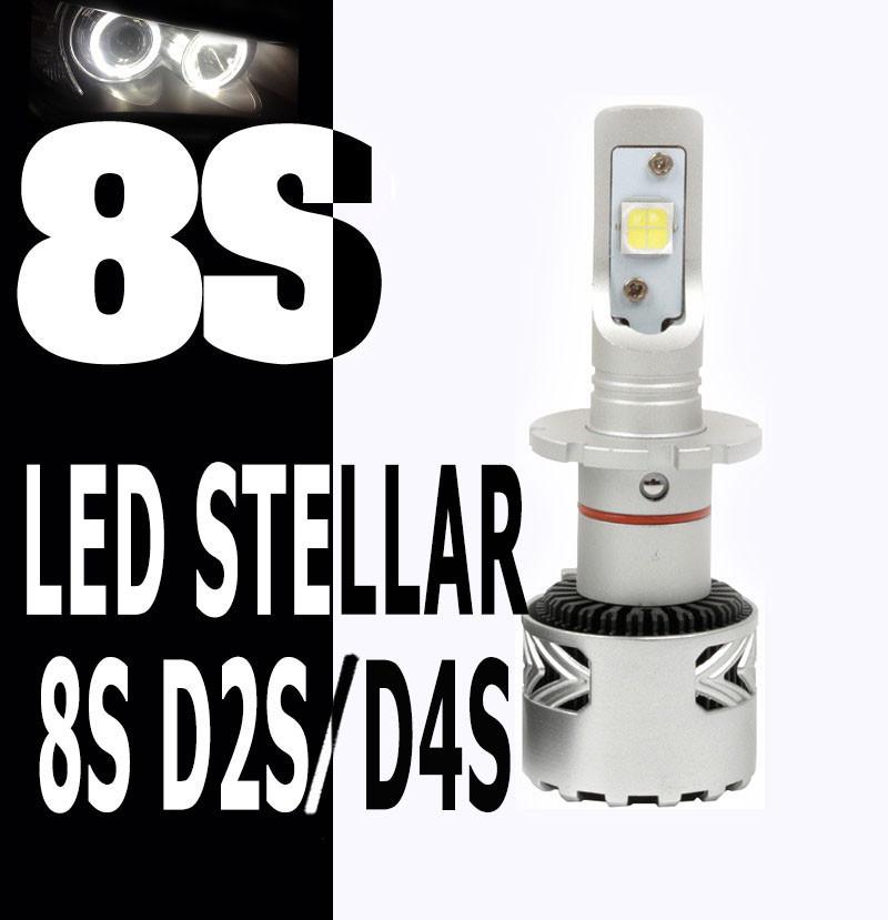 Светодиодные лампы Led 8S STELLAR D2S/D4S