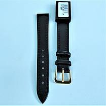 14 мм Кожаный Ремешок для часов CONDOR 340.14.01 Черный Ремешок на часы из Натуральной кожи, фото 2