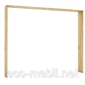 Накладка для шафи 5Д з підсвіткою X32 в спальню Camilla Дуб Крафт Золотий/ Білий Матовий Blonski
