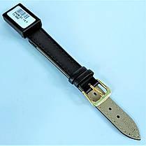 14 мм Кожаный Ремешок для часов CONDOR 340.14.01 Черный Ремешок на часы из Натуральной кожи, фото 3
