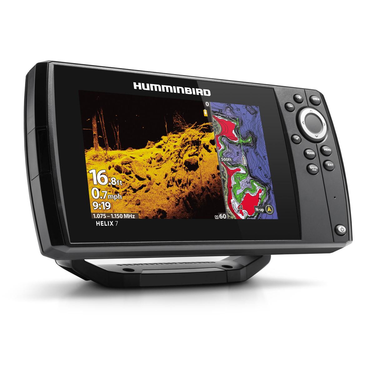 Ехолот Картплотер Humminbird HELIX 7 CHIRP MEGA SI G3 GPS