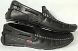 Levis мокасины! Натуральная кожа туфли удобнейшие туфли Levi Strauss Islands 90-01 левис черные, фото 10