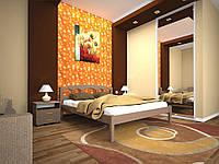 Ліжко з натурального дерева ОМЕГА