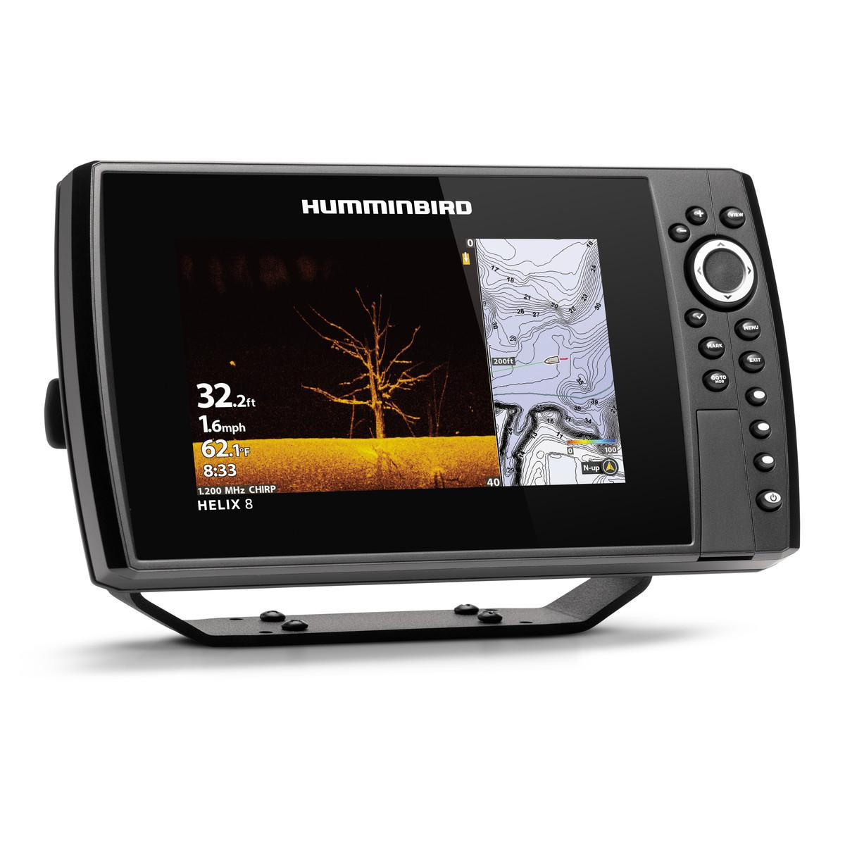 Эхолот Humminbird HELIX 8 CHIRP MEGA SI+ GPS G3N