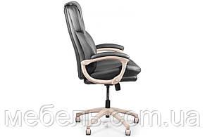 Кассовое кресло Barsky Soft Arm PU black SPUbg-01, фото 2