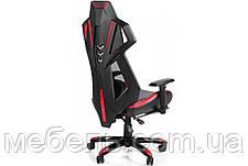 Кресло для домашенего кабинета Barsky Game Mesh Red/Black BGM-03, фото 3