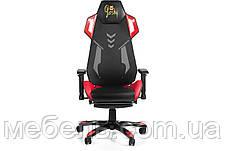 Кресло для домашенего кабинета Barsky Game Mesh Red/Black BGM-03, фото 2